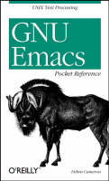 GNU Emacs Pocket Reference: Pocket...