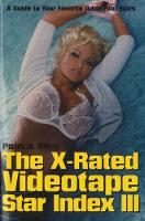The X-Rated Videotape Star Index: A...
