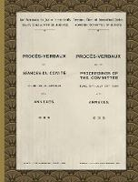 Proces-Verbaux of the Proceedings of...