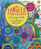 Tangled Treasures Coloring Book: 52...
