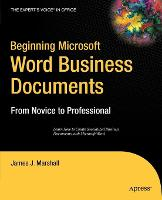 Beginning Microsoft Word Business...
