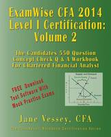 2014 CFA Level I Certification...