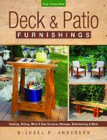 Deck & Patio Furnishings: Seating,...
