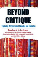 Beyond Critique: Exploring Critical...