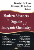 Modern Advances in Organic and Inorganic Chemistry