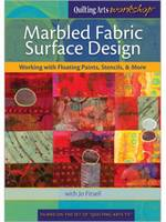 Marbled Fabric Surface Design Working...