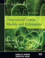 Generalized Linear Models and...