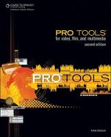 Pro Tools for Video, Film, and...