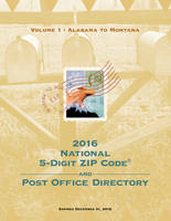 2016 National 5-Digit Zip Code and...