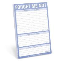 Knock Knock Forget Me Not Pad