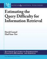 Estimating the Query Difficulty for...