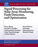 Signal Processing for Solar Array...