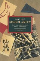 Marx and Singularity: From the Early...