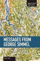 Messages from Georg Simmel: Volume 49