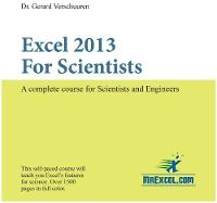 Excel 2013 for Scientists: A Complete...