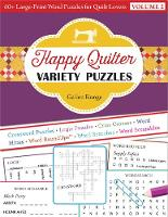 Happy Quilter Variety Puzzles-Volume...