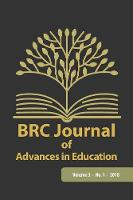 Brc Journal of Advances in Education,...