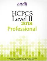 HCPCS Level II 2018 Professional Edition