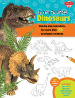 Learn to Draw Dinosaurs: Step-by-Step...