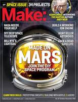 Make: The Space Issue: Volume 47