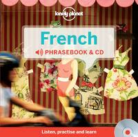 Lonely Planet French phrasebook & CD