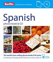 Berlitz Spanish phrase book & CD