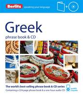 Greek phrase book & CD