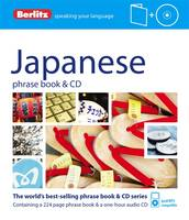 Berlitz Japanese phrase book & CD