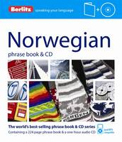 Berlitz Norwegian phrasebook & CD