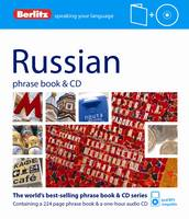 Berlitz Russian phrasebook & CD