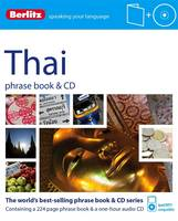 Berlitz Thai phrase book & CD