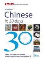 Berlitz Mandarin Chinese in 30 days