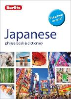 Berlitz Japanese phrase book and...