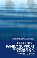Effective Family Support: Responding...