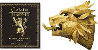 Game of Thrones Mask: House Lannister...