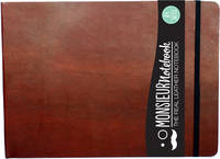 Monsieur Notebook- Real Leather...
