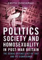 Politics, Society and Homosexuality ...