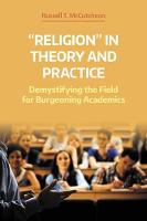 'Religion' in Theory and Practice:...