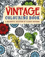 Vintage Colouring Book: A Delightful...