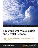 Reporting with Visual Studio and...