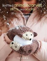 Knitted Animal Scarves, Mitts, and...
