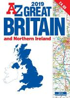 Great Britain Road Atlas 2019 (A3...