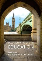 Research and Policy in Education:...