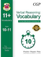 10-Minute Tests for 11+ Verbal...