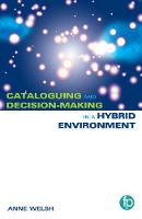 Cataloguing and Decision-making in a...