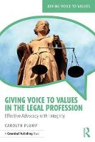 Giving Voice to Values in the Legal...