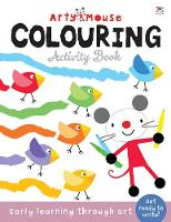 Arty Mouse Colouring