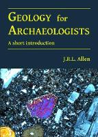 Geology for Archaeologists: A short...