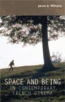 Space and Being in Contemporary ...