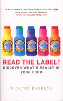 Read the Label!: Discover What's...